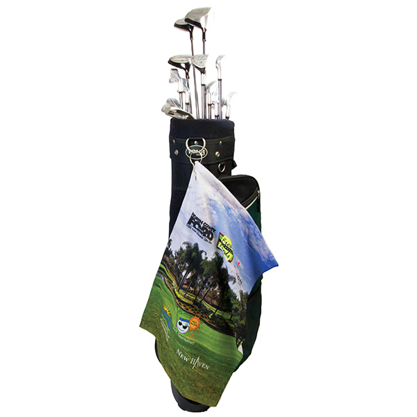 Personalized Microfiber Scrubber Golf Towels