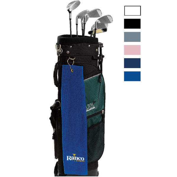 Personalized Medium Weight Velour Golf Towels