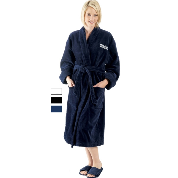 Personalized Terry Velour Shawl Collar Robe