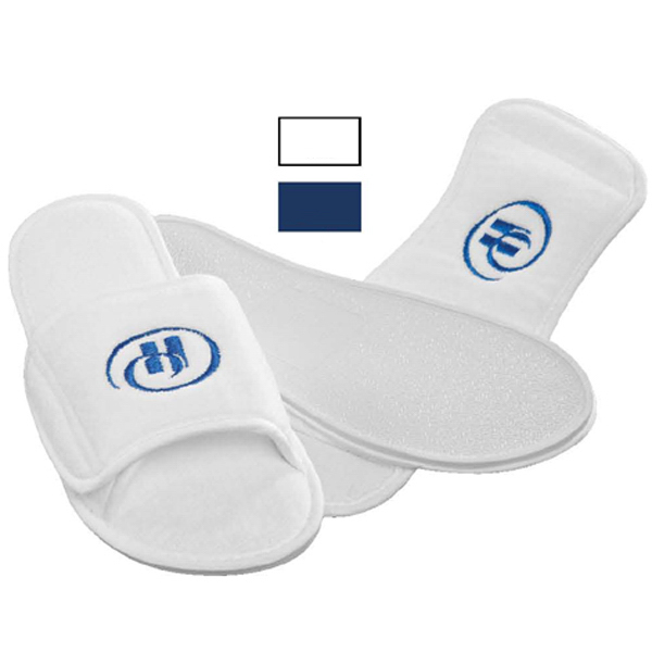 Promotional Terry Velour Slippers
