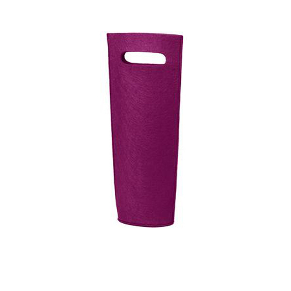 Imprinted Port Authority Felt Wine Tote