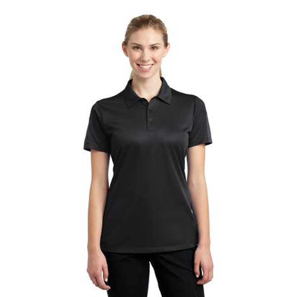 Imprinted Sport-Tek Ladies Active Textured Colorblock Polo