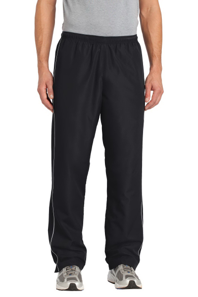 Imprinted Sport-Tek Piped Wind Pant