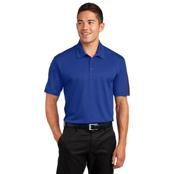 Promotional Sport-Tek Active Textured Colorblock Polo