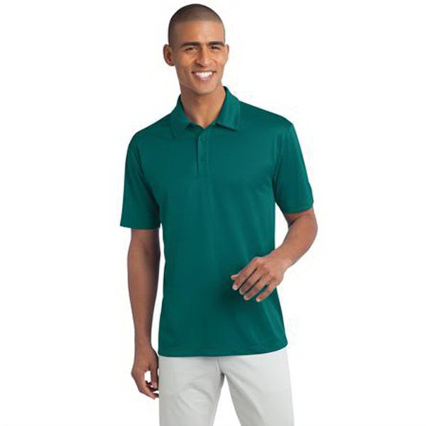 Printed Port Authority Tall Silk Touch Performance Polo