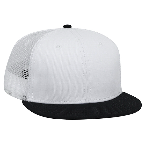 Customized Six Panel Pro Style Mesh Back Cap