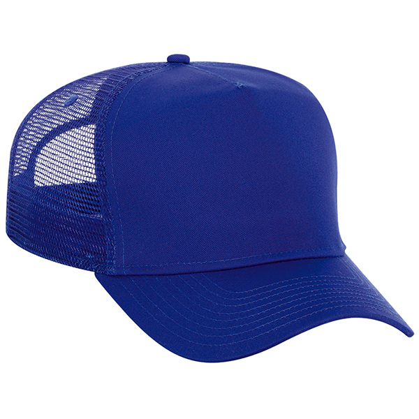 Custom High Crown Golf Style Mesh Back Cap