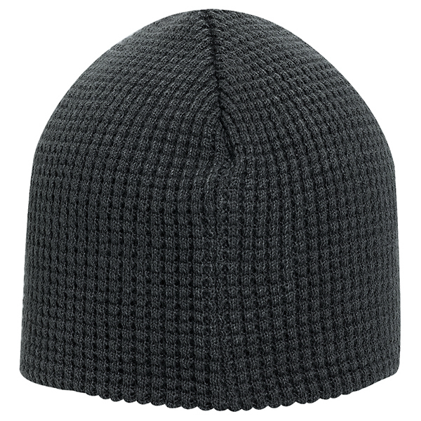 "Imprinted 8"" Waffle Knit Beanies"