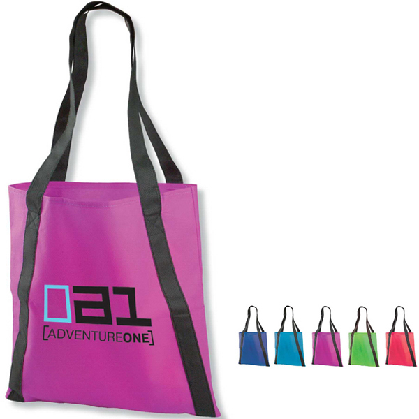 "Promotional The Pinnacle 15"" Non-Woven Tote"