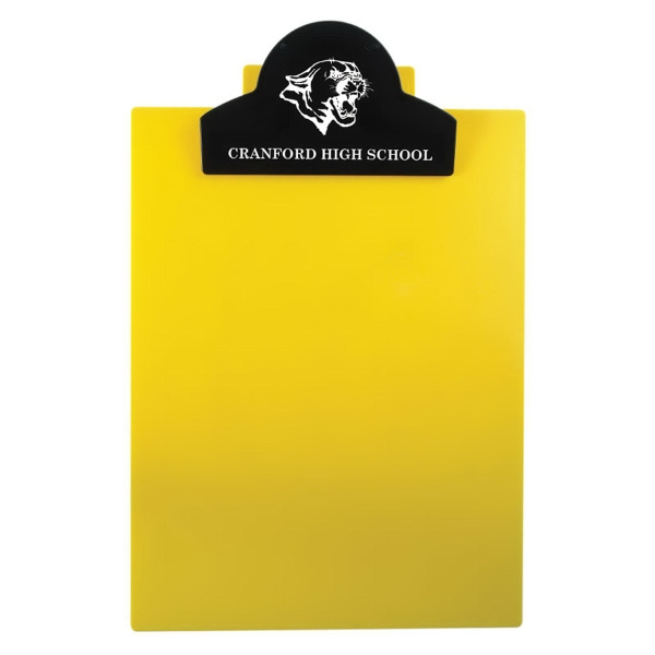 Custom Letter Clipboard with Jumbo Round Top Clip