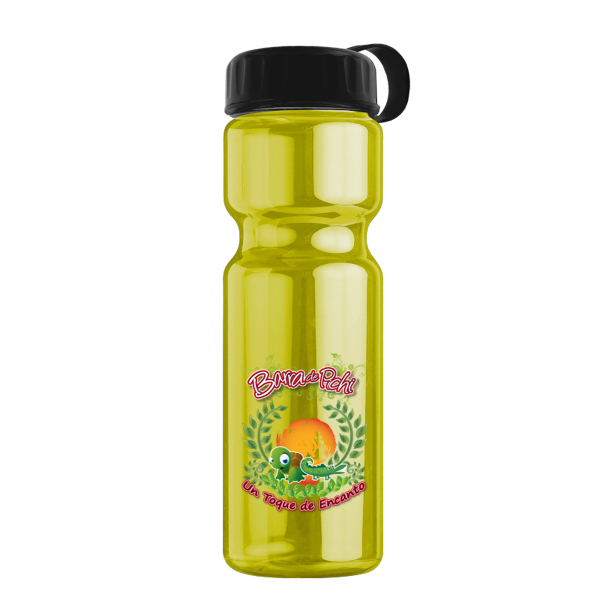Promotional 28 oz Transparent Sports Bottle
