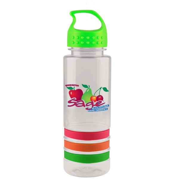 Personalized 24 oz. Sergeant Stripe Bottle