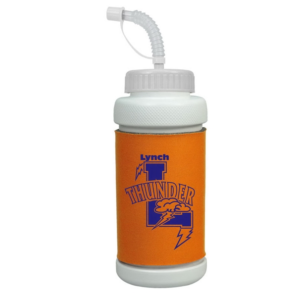 Imprinted 34 oz Insulated Sports Bottle