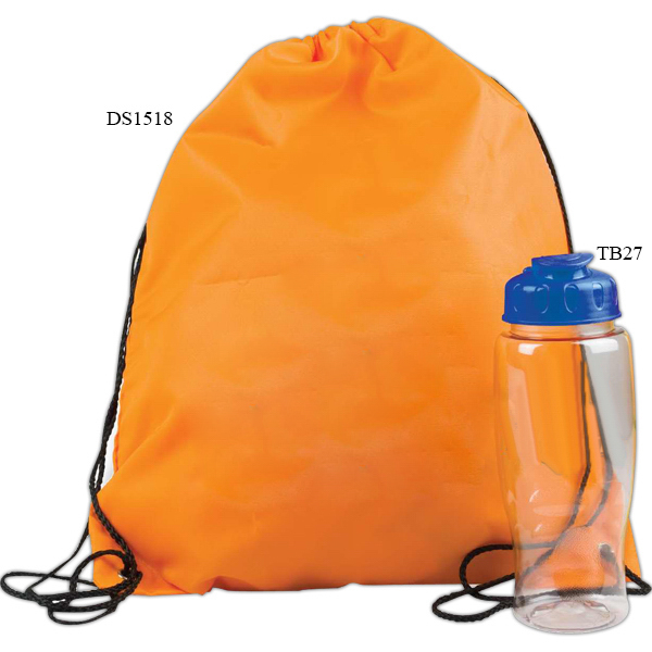 Customized Drawstring Backpack in a Bottle