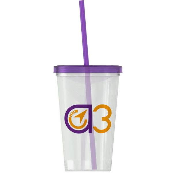 Customized On-The-Go Tumbler 20 oz Travel Tumbler