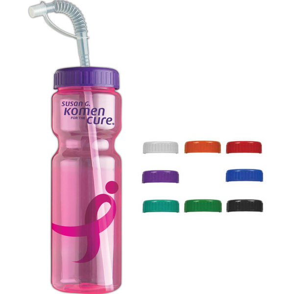 Promotional The Olympian 28 oz Transparent Bottle