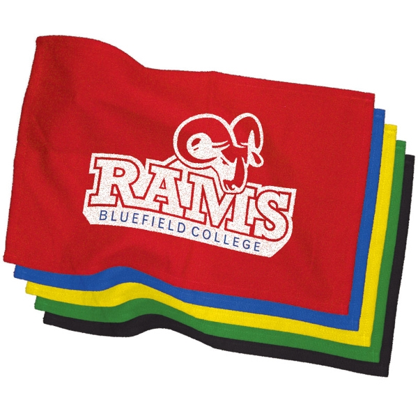 "Promotional 11"" x 18"" Colored Rally Towel"