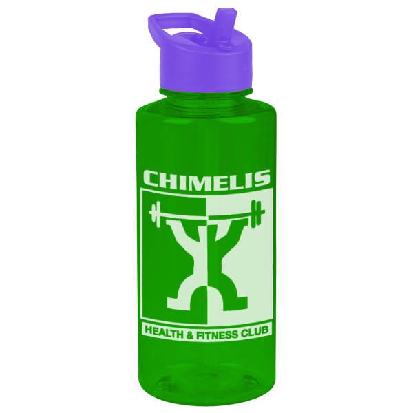 Custom The Mountaineer 36 oz Tritan (TM) Bottle