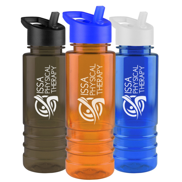 Personalized Salute 24 oz Tritan (TM) Bottle