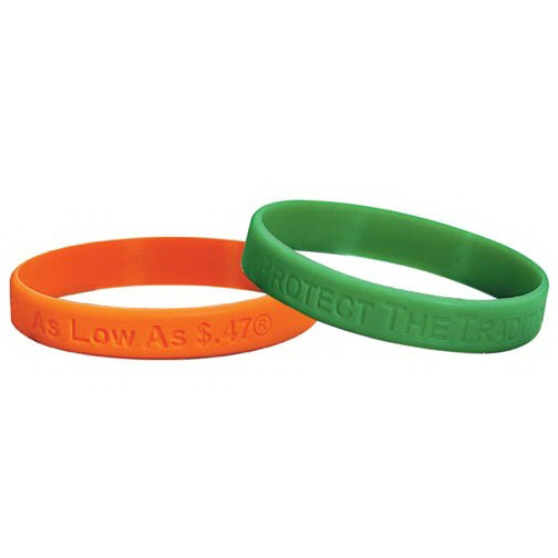 Printed Silicone Wrist Band