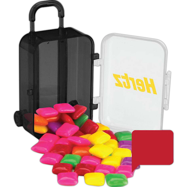 Printed Luggage Candy Container