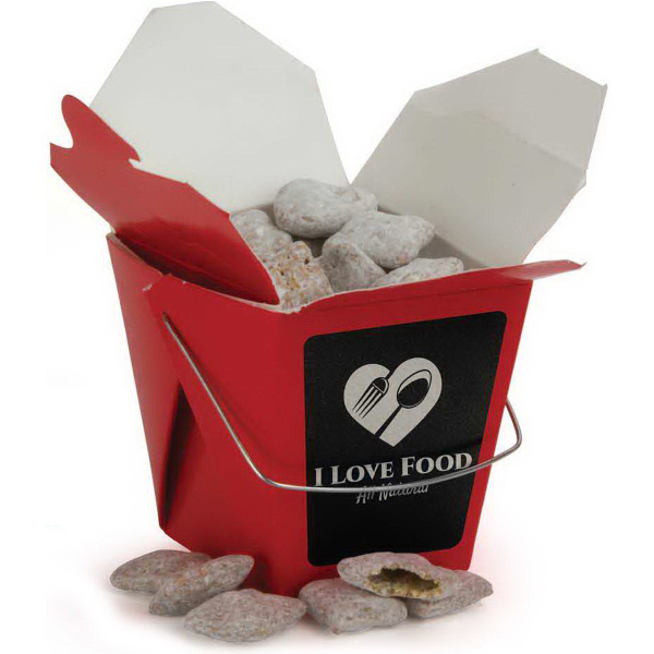 Personalized Chinese Take Out Box - Half Pint