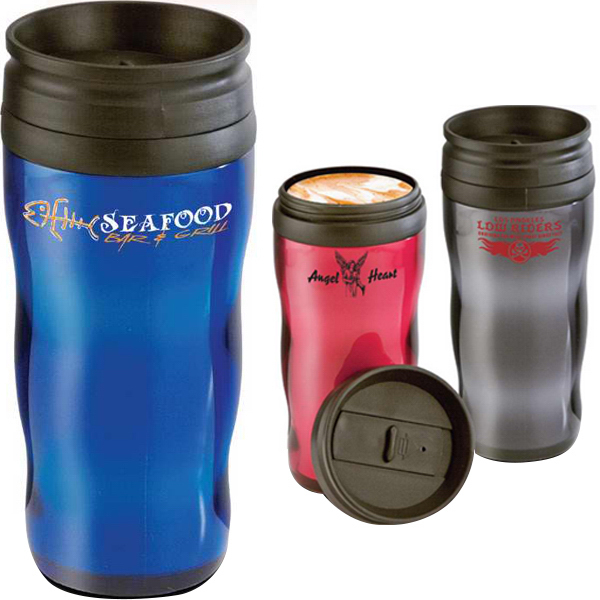 Personalized 16 oz. Wave Tumbler