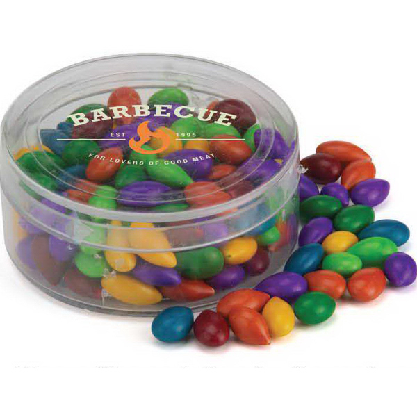 Promotional Round Plastic Candy Container