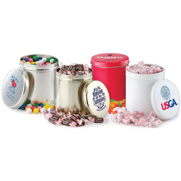 Printed Round Candy Tin