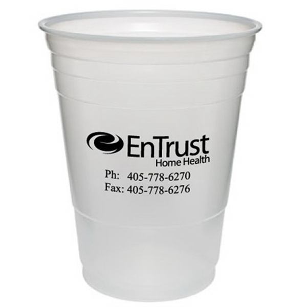 Customized Translucent Large Party Cup