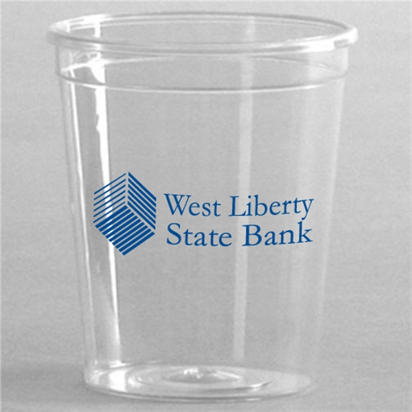 Custom Crystal Clear Styrene Cup