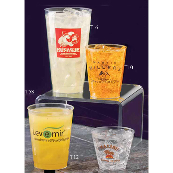 Promotional Crystal Clear Styrene Cup