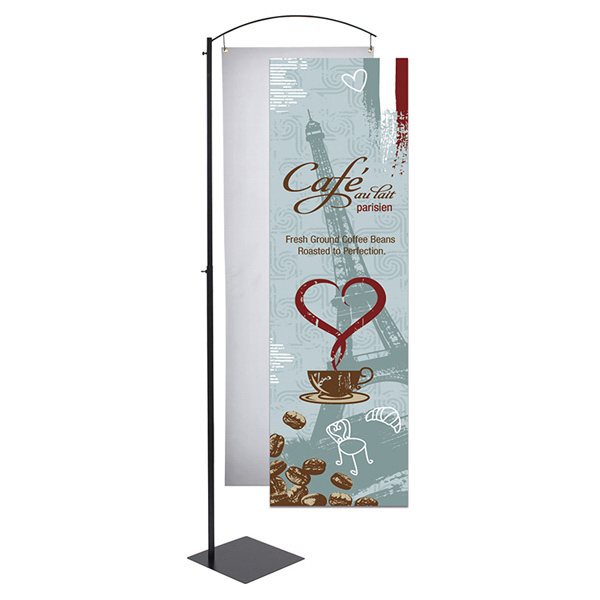 Personalized Curved Cantilever Display Graphic Only