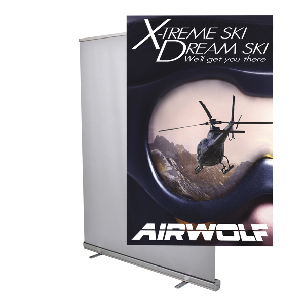 Printed Jumbo Wide 5' Retractor Graphic Only