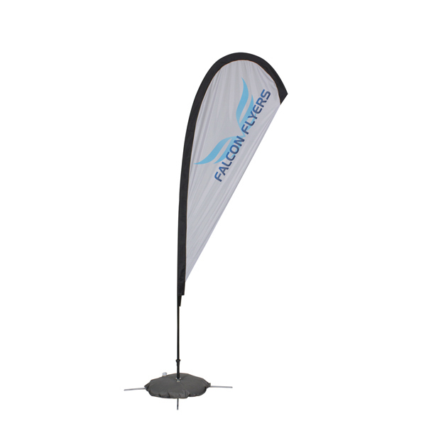 Promotional Quick Ship Tear Drop Sail Sign