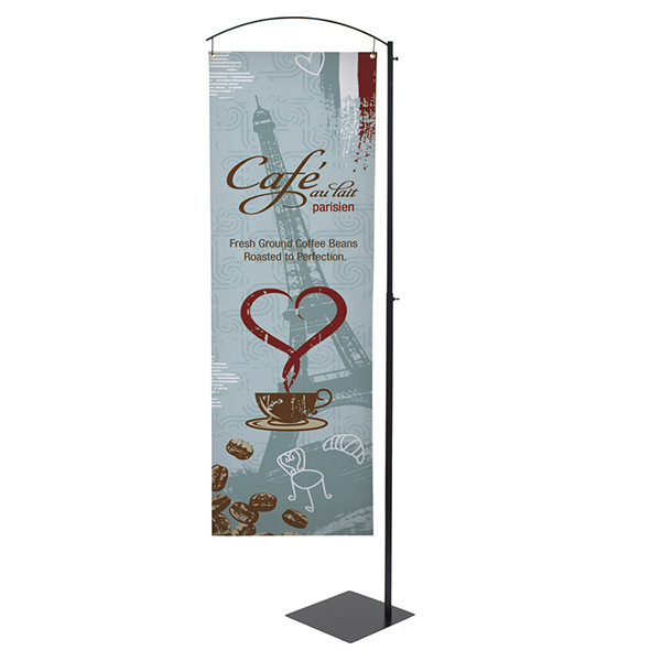 Promotional Curved Cantilever Display Kit