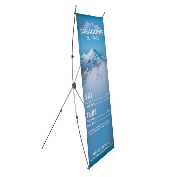 Printed X-Ceptional Banner Display