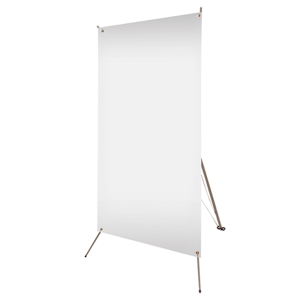 "Promotional Tripod Banner Display 32"" x 72"" Hardware Only"