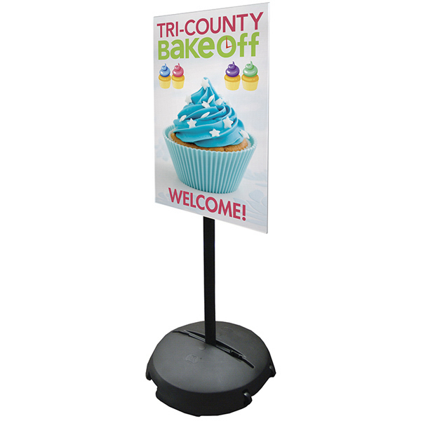 Personalized Portable Sign Pole