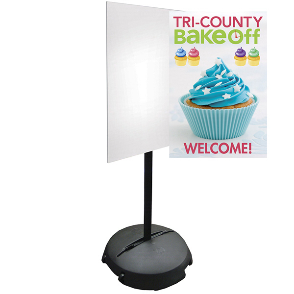 Personalized Portable Sign Pole Graphic Only