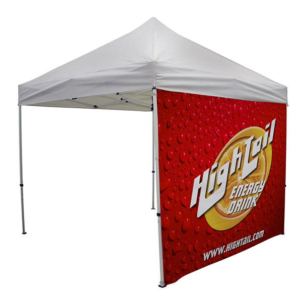 Custom ShowStopper Double-Sided Tent Full Wall with Zippered Sides