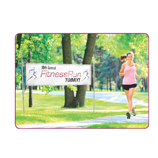 Promotional In-Ground Banner Post Hardware Only