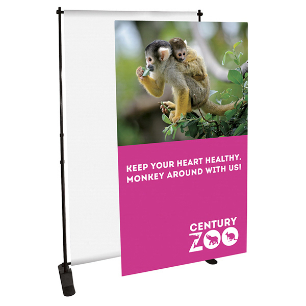 Promotional Sleek Exhibitor Expanding Display Graphic Only