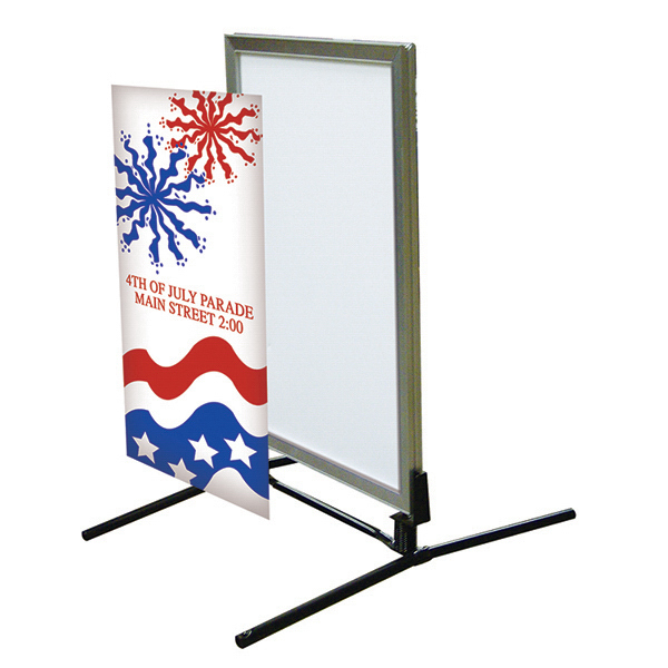 Promotional Curb Flex Snap Frame Graphic Only