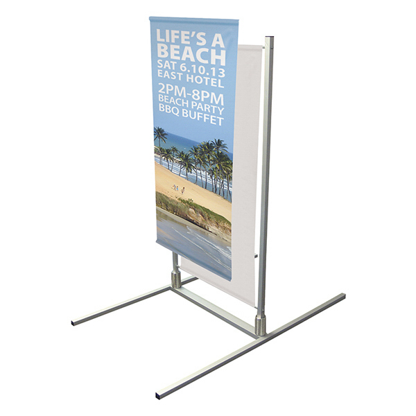 Customized Spring Flex Banner Frame Graphic Only