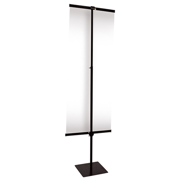 Printed 24-inch Everyday Snap Rail Banner Display Hardware Only