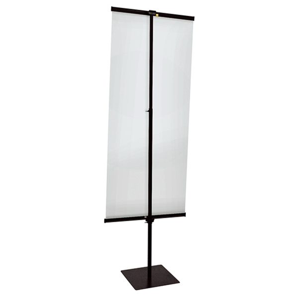 Custom 30-inch Everyday Snap Rail Banner Display Hardware Only