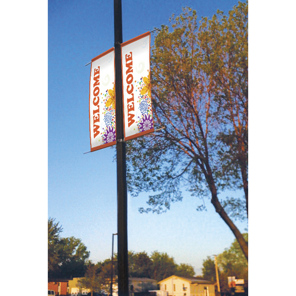 Customized Titan (TM) 18 oz Opaque Vinyl Imprinted Boulevard Banner