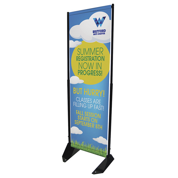 Printed Outdoor Anchored Banner Frame Graphic Only
