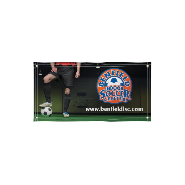 Promotional Super Poly Knit Single-Sided Fabric Banner